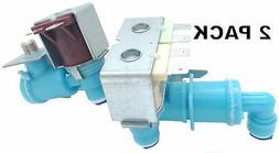 2 Pk, Refrigerator Triple Water Valve for Frigidaire, AP5671