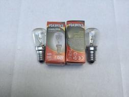 2 x Bosch Fridge Refrigerator Lamp Light Bulb Globe KAN56V10