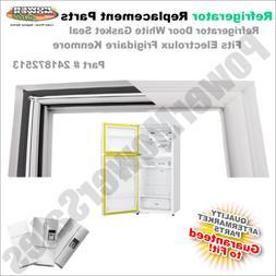 241872513 Refrigerator Door White Gasket Seal fits Electrolu
