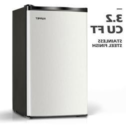 3.2 Cu.Ft Mini Compact Refrigerator Top Freezer Cooler Fridg