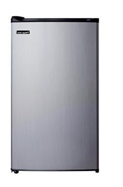 3.5cf Stainless Refrigerator