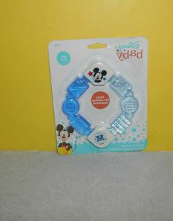 3 X Baby King Water Filled Teether Ring Gum Massager Fridge