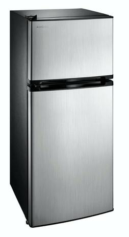 4.3 Cu. Ft. Top-Freezer Refrigerator , Top Stainless steel F