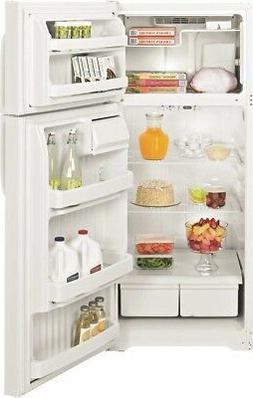 GE 469573 Energy Star 17.5 Cu. Ft. Top Freezer Refrigerator