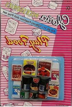 Gloria Accessories Barbie Size Dollhouse Furniture Fridge Fo