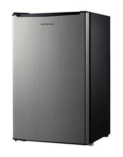 Amana AMAR35S1E 3.5 cu. Ft. One Door Compact Refrigerator, S