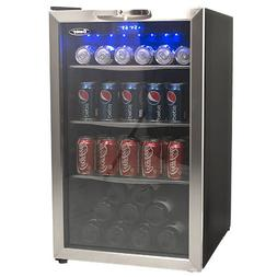 Danby 4.3 cu ft Beverage Center with Glass Shelves and Stain