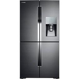 Samsung Black Stainless Steel 28 CF 4 Door Flex Refrigerator