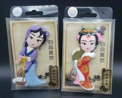 chinese beijing peking opera character female girl