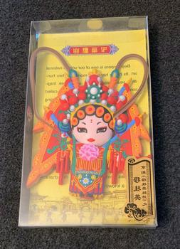 Chinese Peking Opera Character Female Role Mu Guiying Refrig