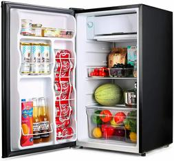 TACKLIFE Compact Refrigerator, 3.2 Cu Ft Mini Fridge with Fr