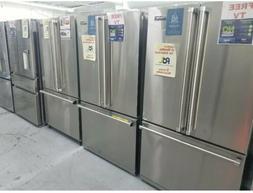 Viking Counter Depth Free Standing French Door Refrigerator