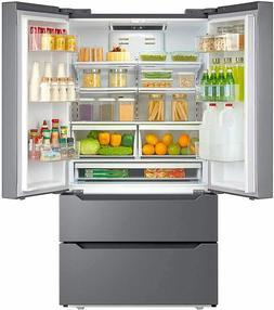 Counter Depth Fridge French Door Refrigerator Freezer Stainl