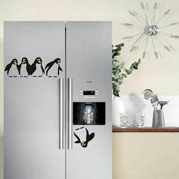 Funny Penguin Kitchen Fridge Sticker Decals Dining Room Deco