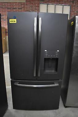 """GE GFE26JEMDS 36"""" Black Slate French Door Refrigerator NOB #"""