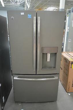 "GE GFE28GMKES 36"" Slate French Door Refrigerator NOB #26325"