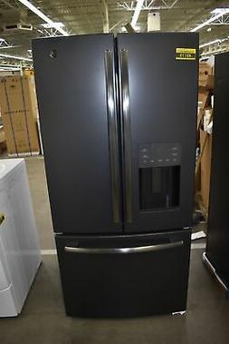 gye18jemds black slate french door refrirator 17