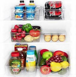 JinaMart Refrigerator Organizer Bins For Freezer & Fridge Se