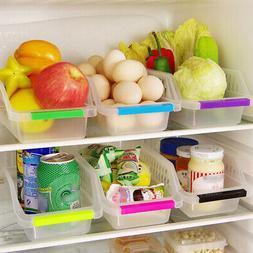 Kitchen Fridge Storage Box Space Saver Food Sundries Organiz