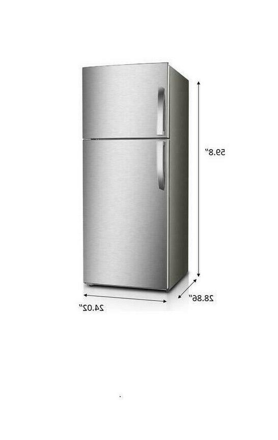 Premium 12 Ft Frost Free Refrigerator Stainless