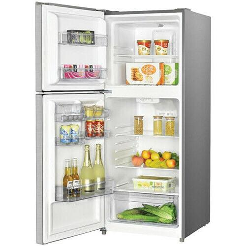 Premium Cu Frost Free Top Freezer Refrigerator Stainless