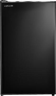 Insignia- 3.3 Cu. Ft. Mini Fridge - Black