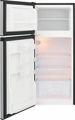Ft. Top-Freezer Silver