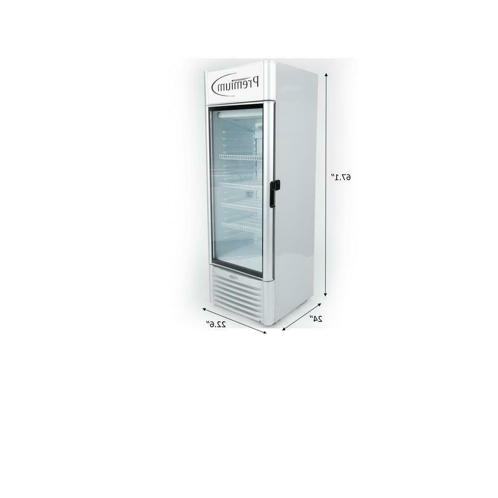 9 0 cuft single glass door upright