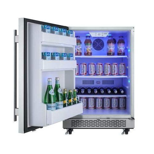 """Avallon AFR241SSODRH 5.5 Ft 24"""" Outdoor Refrigerator"""