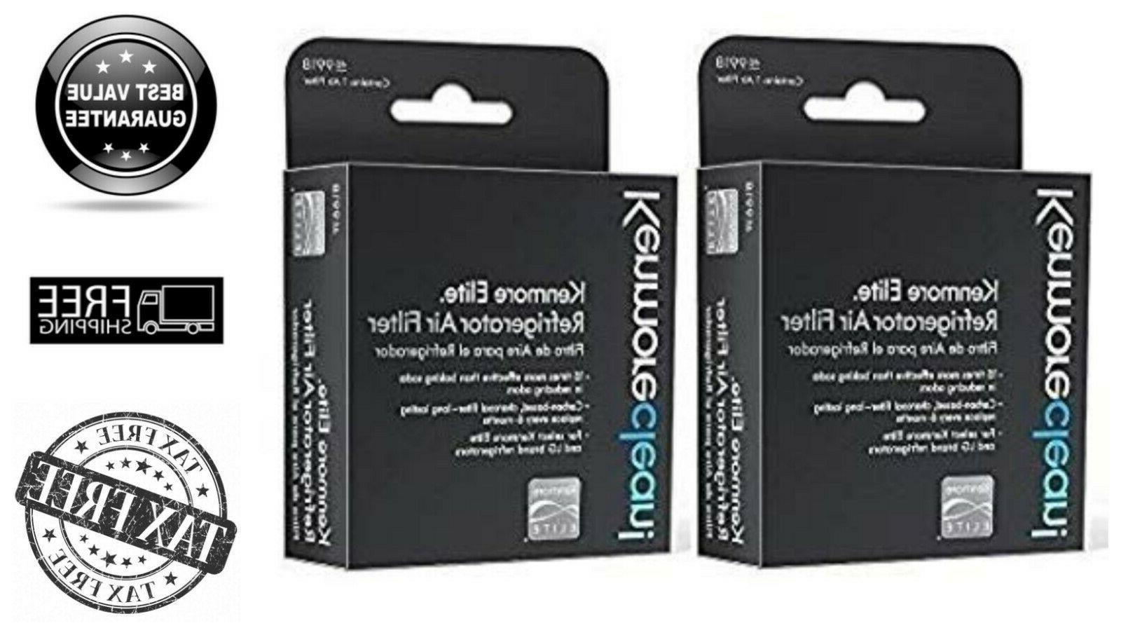 2 Pack Kenmore Elite Refrigerator Air Filter Carbon-Based Lo