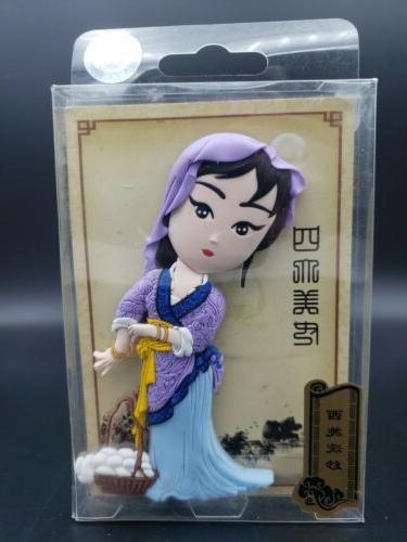 Chinese Beijing Opera Fridge Magnet 2