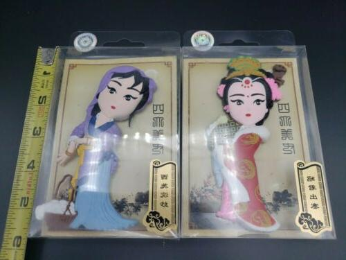 Chinese Beijing Character Rubber Fridge Magnet of 2