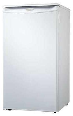 DANBY DCR032A2WDD Compact Refrigerator and Freezer, 2.9 cu f