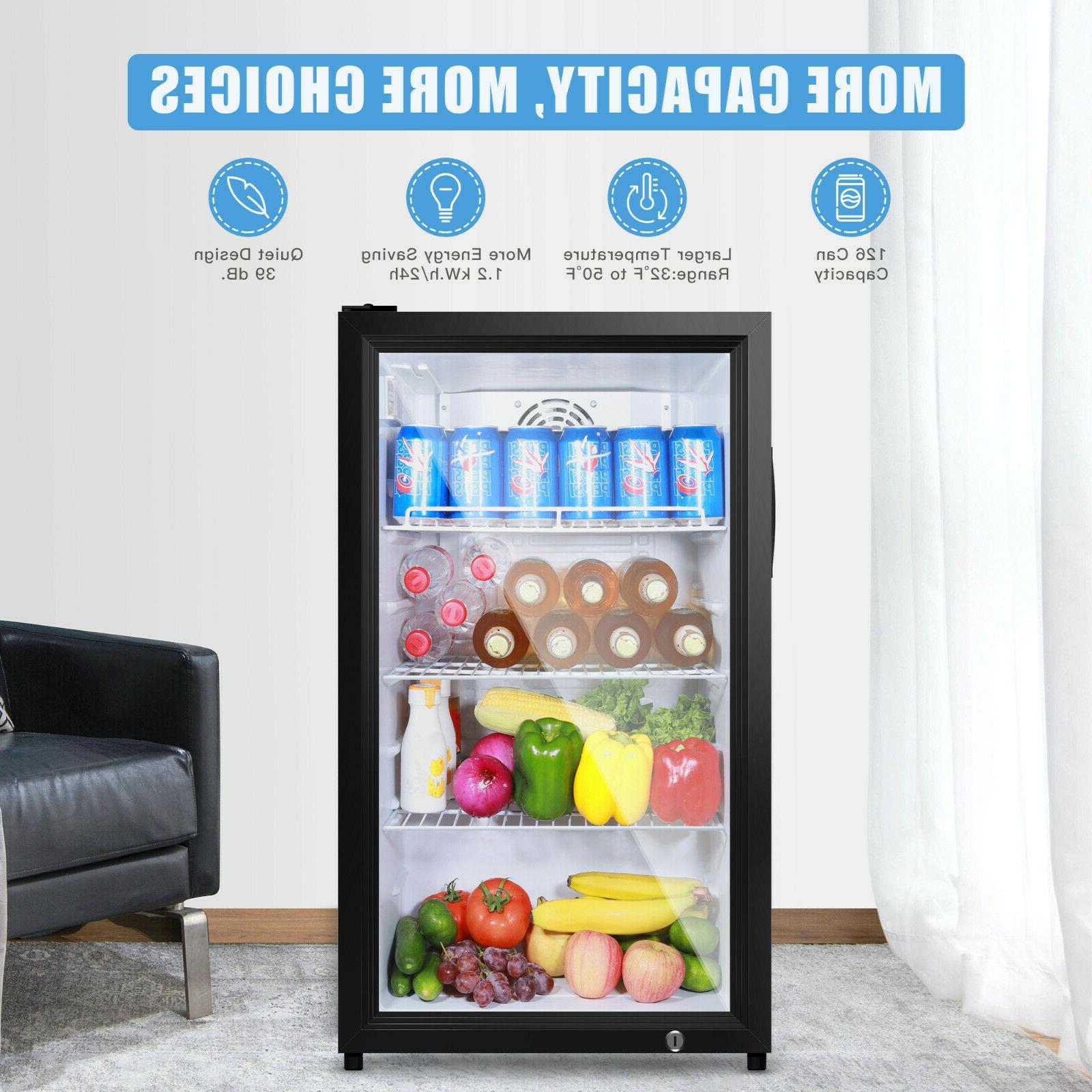 Famistar Beverage Cooler - 126 Mini Door