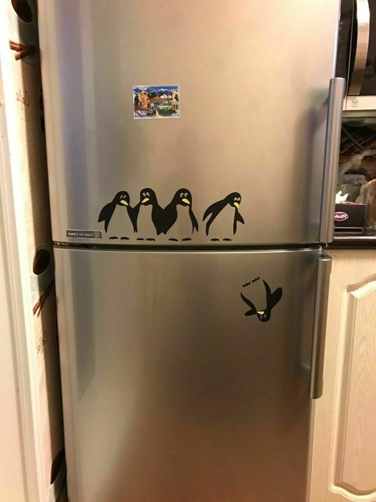 Funny Kitchen Fridge Sticker Decals Room Decorative