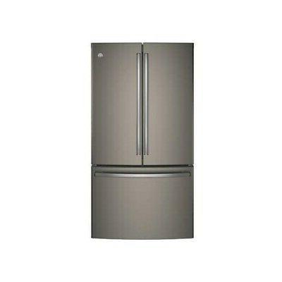 ge gnes29gmkes 36 slate french door refrigerator