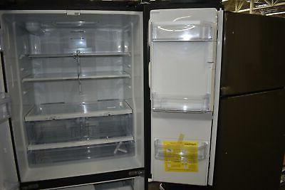 GE Black French Refrigerator CuFt #49119