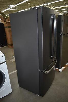 GE GYE18JEMDS Black French Door Refrigerator 17.5 CuFt