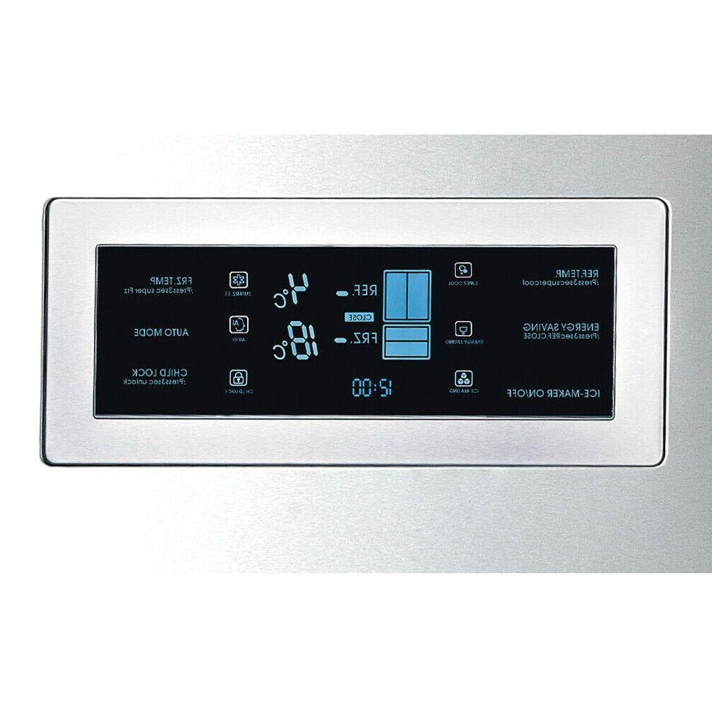 Kitchen Ice-maker Inch Refrigerator Depth French Door