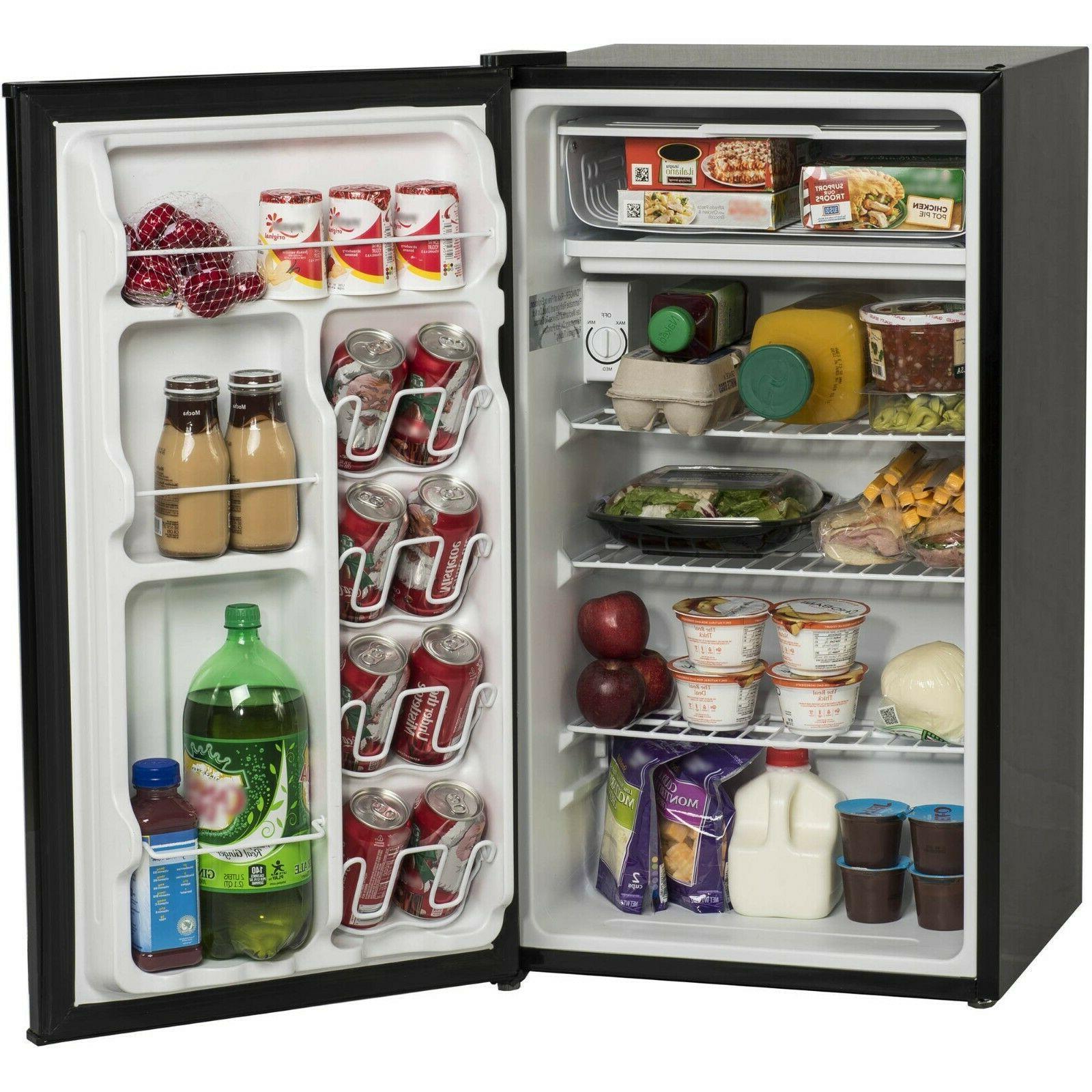 mini fridge 3 3 cu ft compact