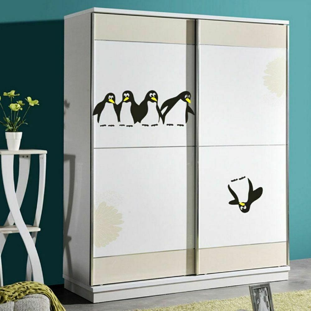 Penguin Stickers DIY Kitchen Dining