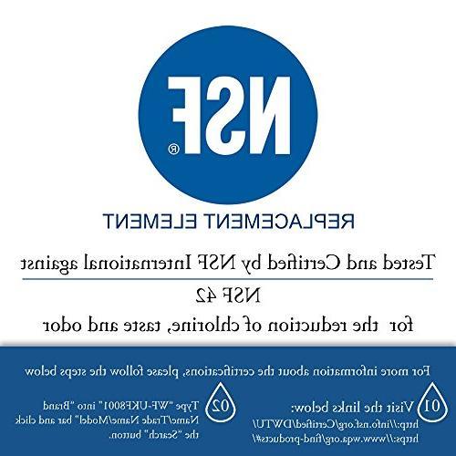 Denali Pure Filter for Whirlpool, KitchenAid, Jenn Air, Viking with MFI2269VEM, KFXS25RYMS,