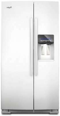 WHIRLPOOL Side-by-Side Refrigerator GSC25C6EYW