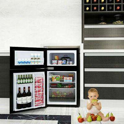 Stainless mini Freezer Cooler 3.2 cu