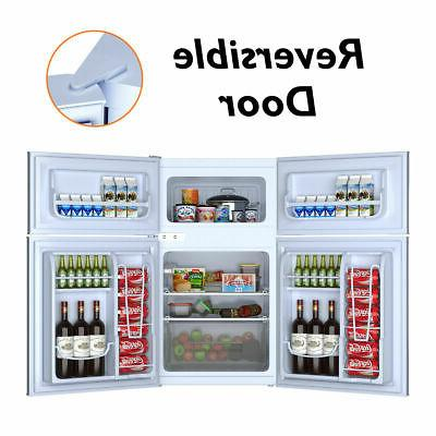 Stainless Refrigerator Freezer Fridge cu