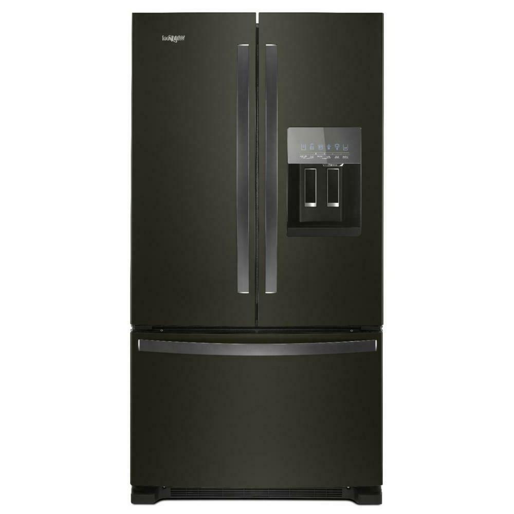 wrf555sdhv 25 cu ft french door refrigerator