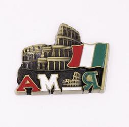 On sale! Colosseum Rome Italy Fridge Magnet Bronze Metal Sou