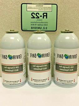 R22, R-22, Refrigerant 22, Refrigeration, A/C, Oil Charge Fo