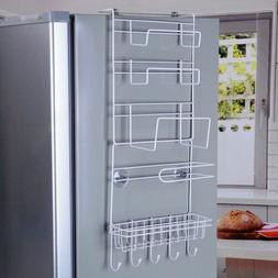 Refrigerator Rack Side Shelf Sidewall Space Crack Holder Kit