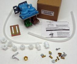 Replacement Icemaker Dual Solenoid Water Valve for Whirlpool